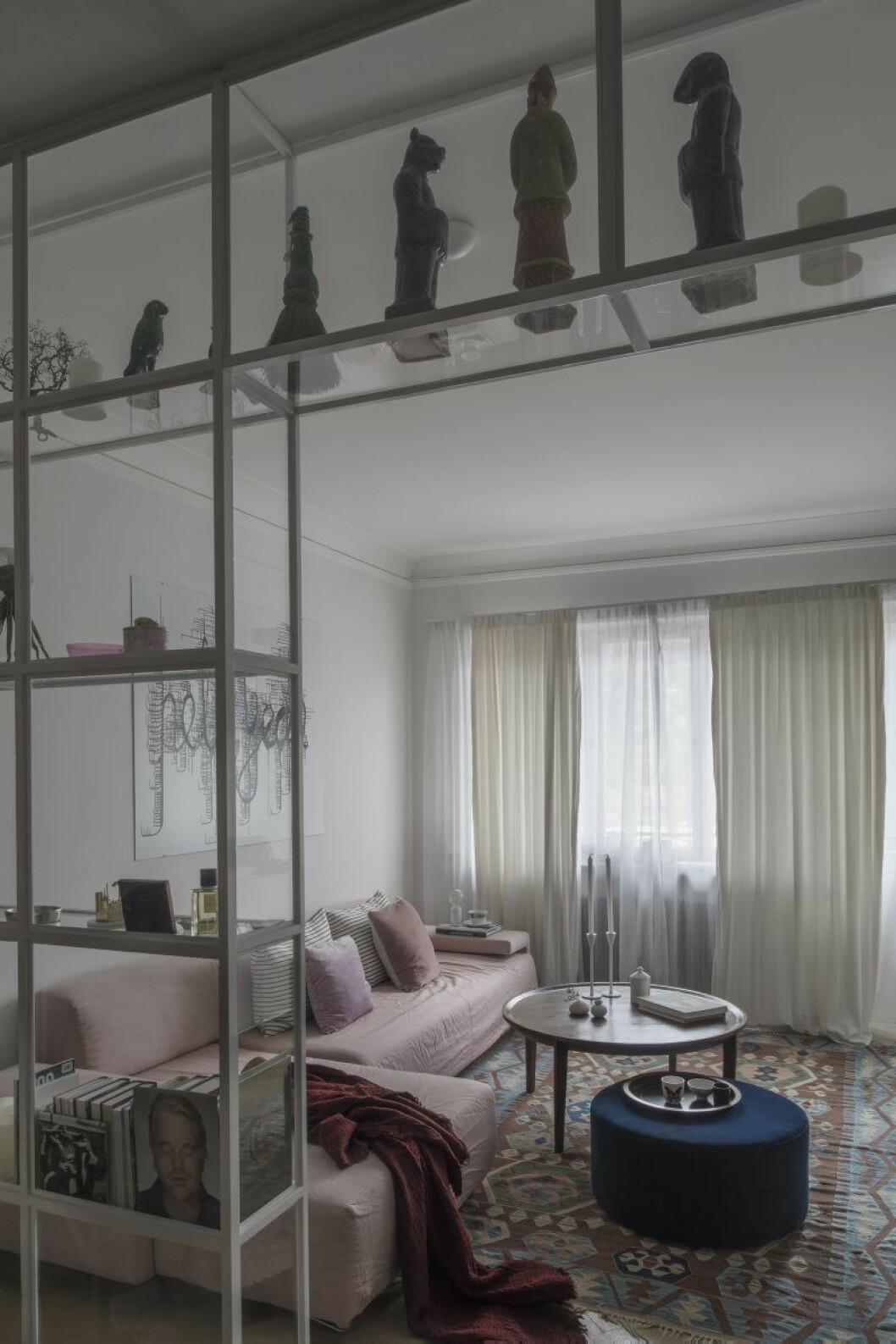 Vardagsrum hemma hos Anitha Clemence