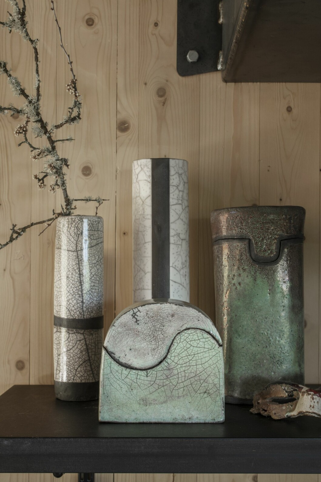 Vaser av Ina M Andersson, Studio Osprey.