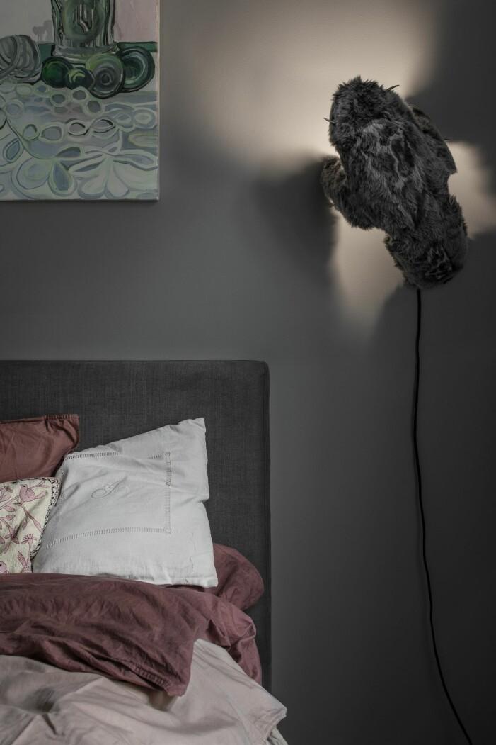 Lampa av Ygnvild Saeter hemma hos Joanna Sundström