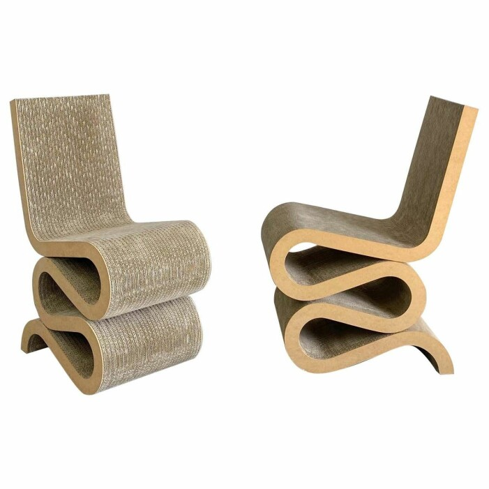 Wiggle Chair av Frank Gehry
