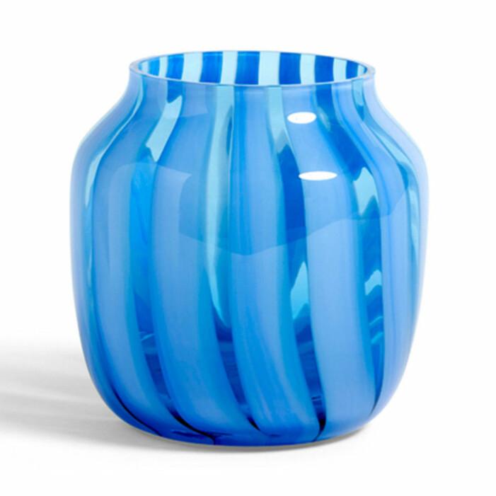 Blå vas från Hay