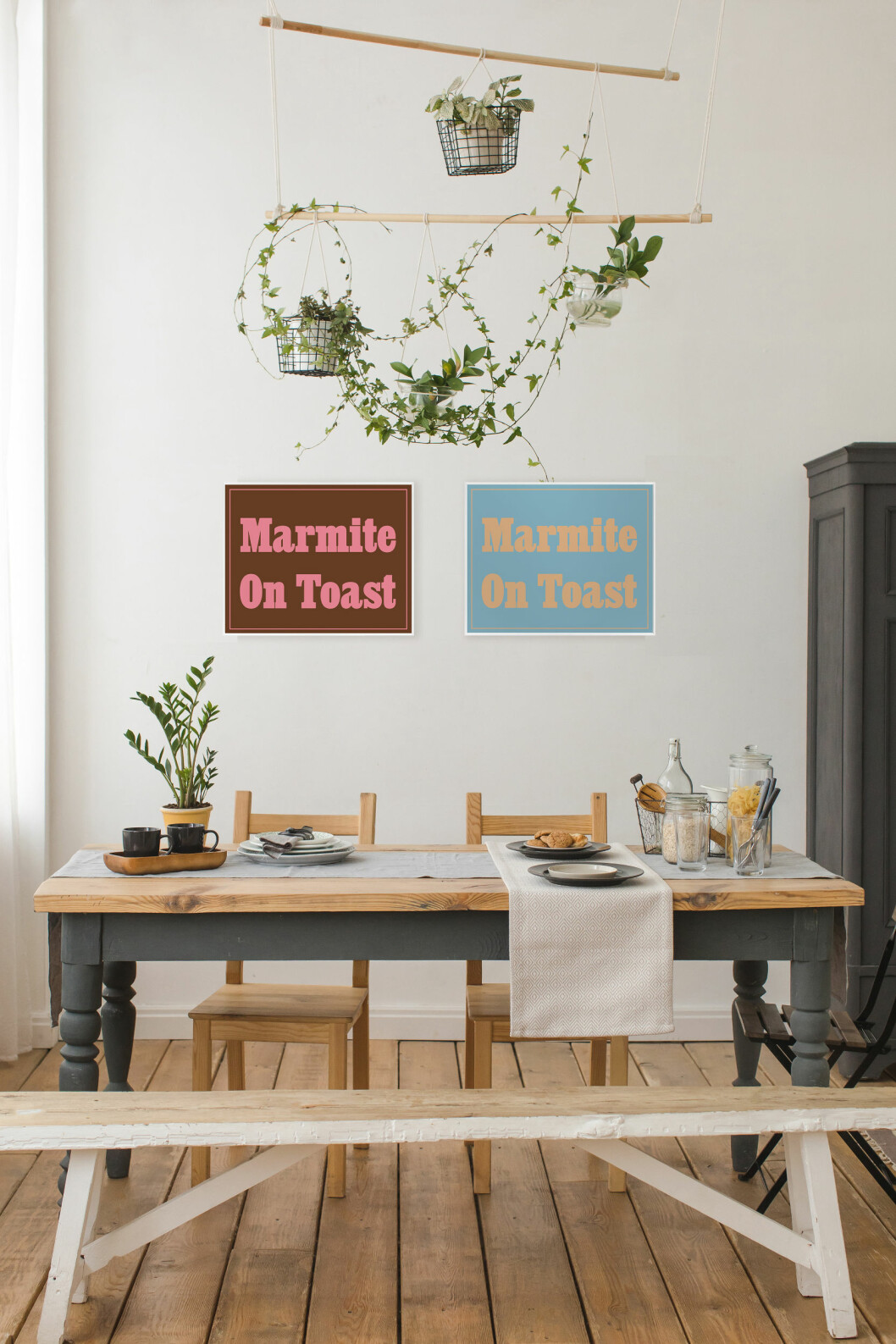 Konstverk, Marmite on Toast II och II, limiterad upplaga om 25, av Jeremy Deller, 70x50 cm, pris utan ram 3 200 kr, pris med ram 4 399 kr, Absolut Art. Foto: Demkat