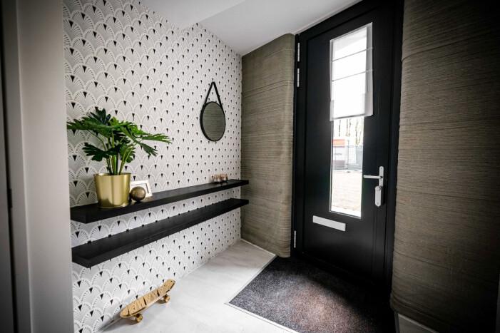 Kika in i 3D-printade huset i Eindhoven