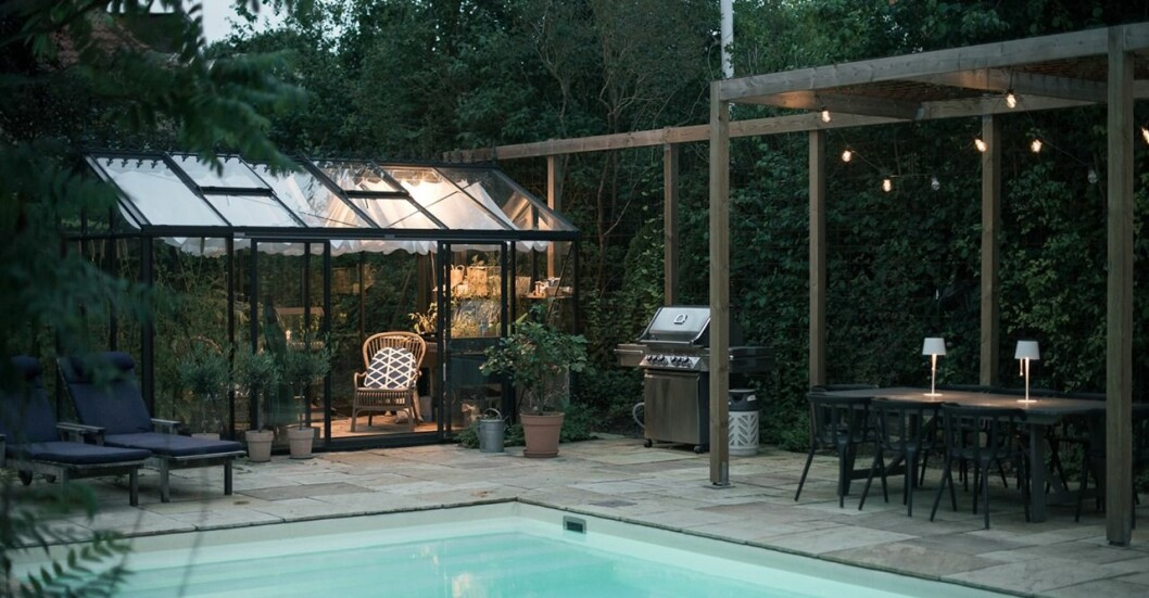 Kika in och inspireras av arkitektritade villan från 1940-talet.