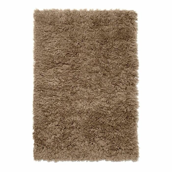 flauschiger Teppich