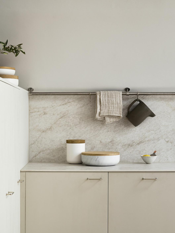 Granitkeramik bänkskiva, Glanshammar Silk, 5 399 kr/m², Bricmate
