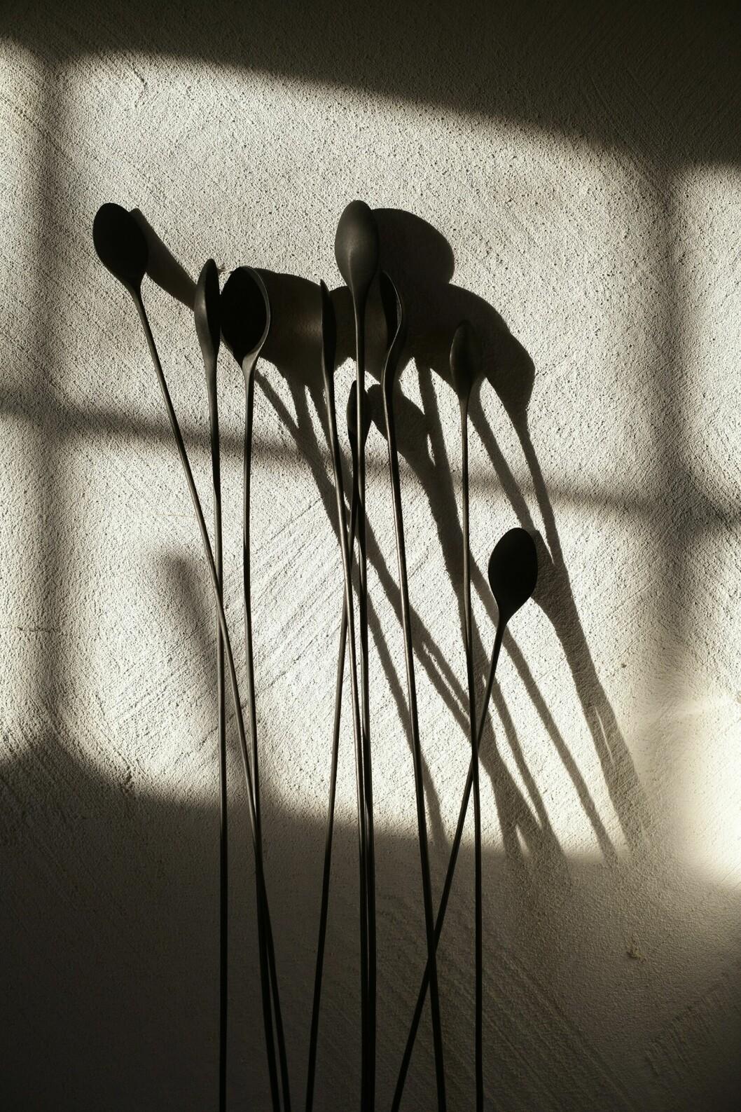 Daniels kända skedskulpturer.