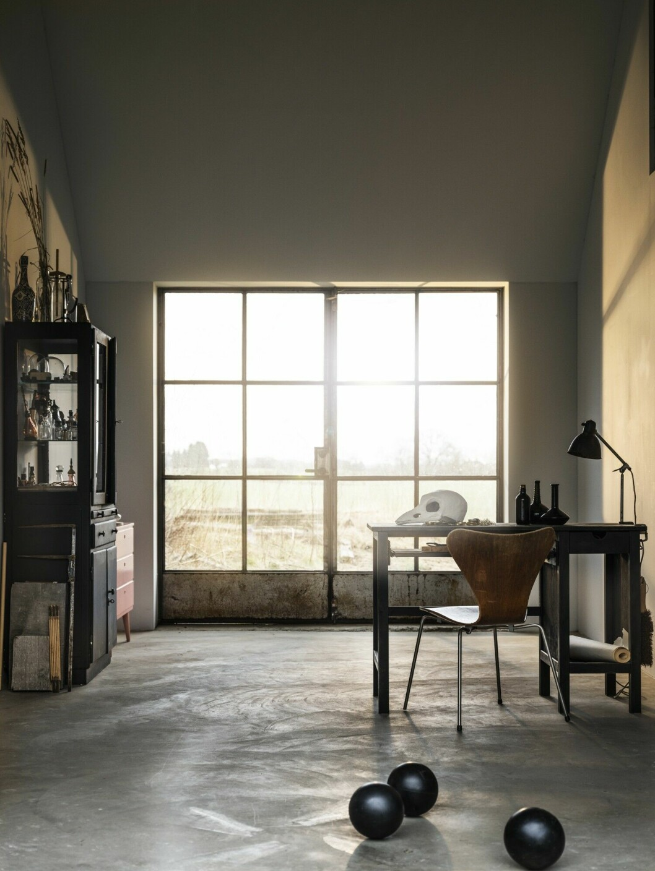 Studio med utsikt.