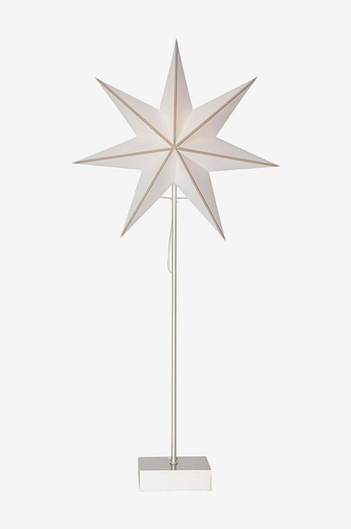 adventsstjärna på fot från star trading