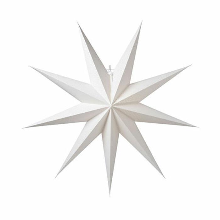 Stor vit adventsstjärna från Watt&Veke