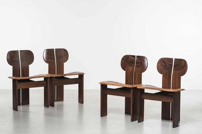 African Dining Chair av Afra och Tobia Scarpa för B&B Italia