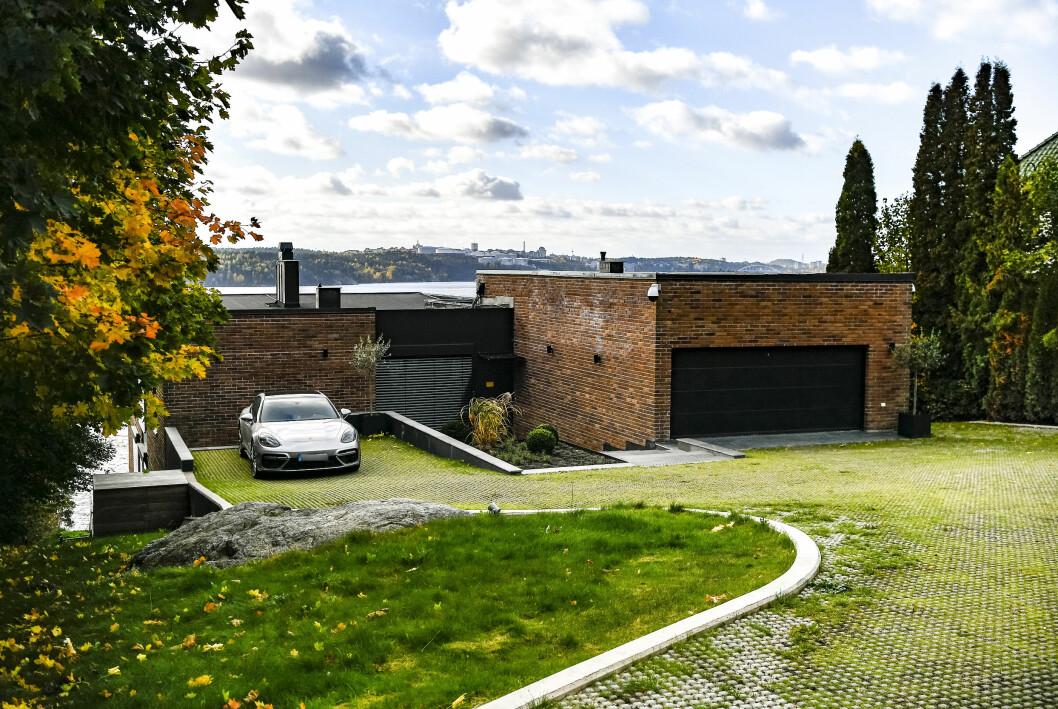 Alexander Ernstbergers villa på Lidingö.