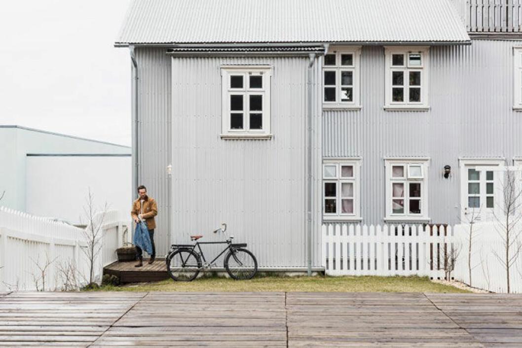 Cykeln är ett av Anthonys favoritobjekt, en svensk Kronan-cykel han köpt av en kille i LA, som hade köpt den i Japan.