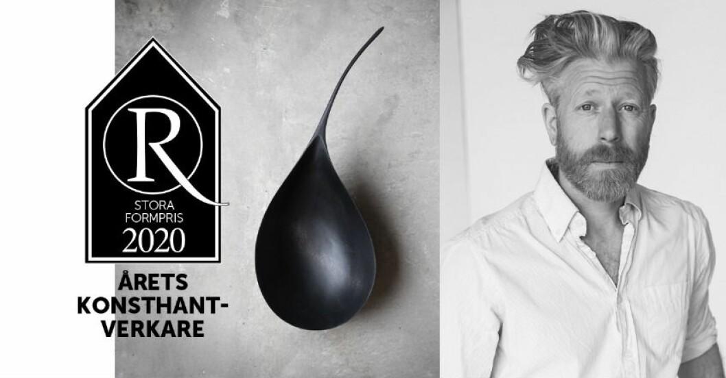 Årets konsthantverk 2020 Residence Stora Formpris Foto Daniel Wester