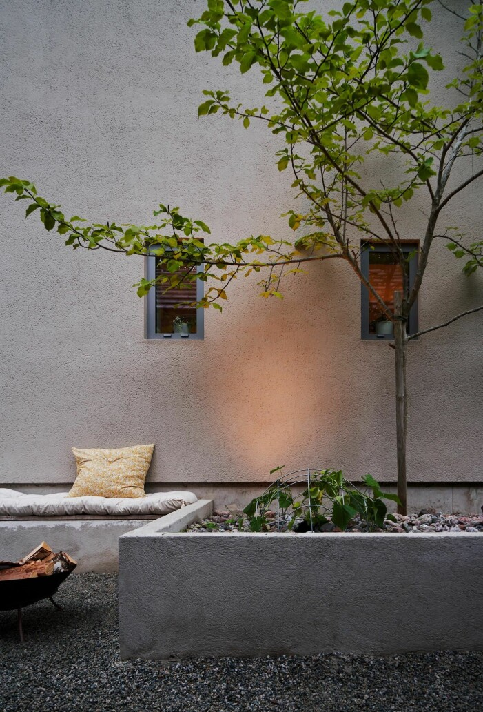 Arkitektritad lyxvilla i Saltsjö-Boo utanför Stockholm, natur