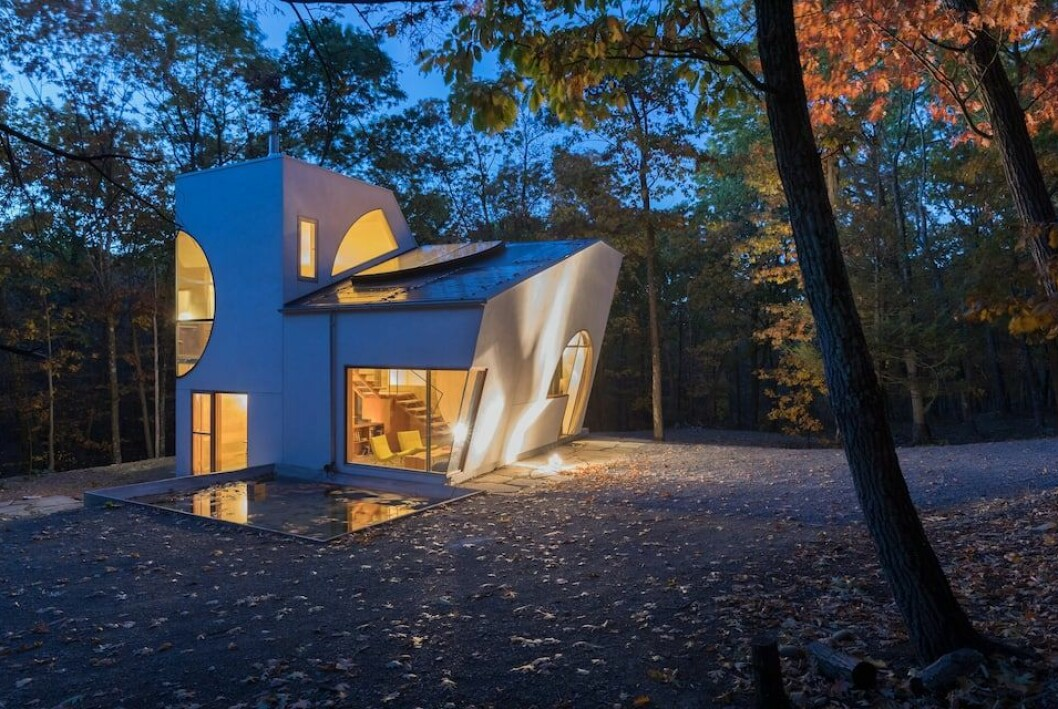 Arkitekturkonstverk i Rhinebeck, New York