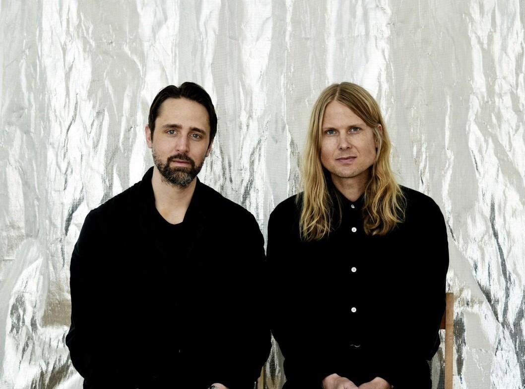 Arkitekterna Johan Arrhov och Henrik Frick