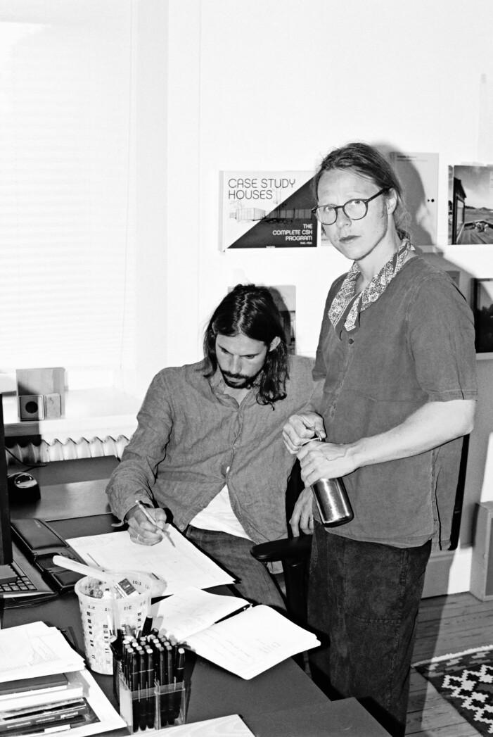 Arkitekterna Mats W Walter och Joel Phersson