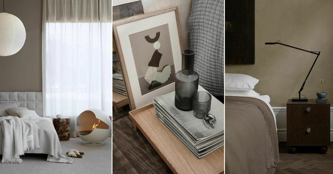 Så skapar du ett avkopplande sovrum, 11 stylingtips