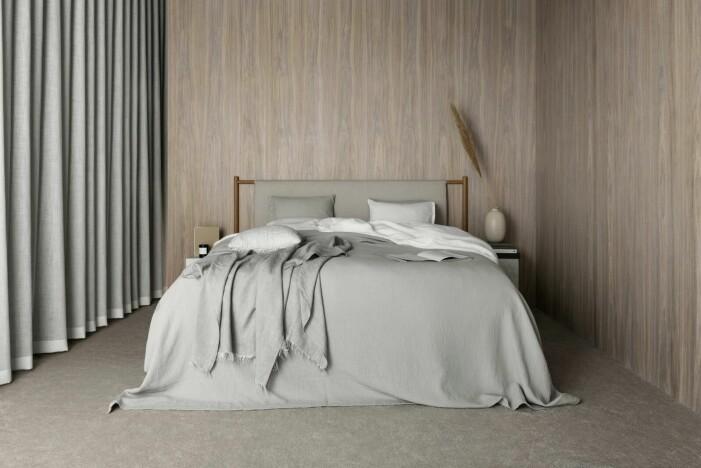 Så skapar du ett avkopplande sovrum, naturnära sänggavel