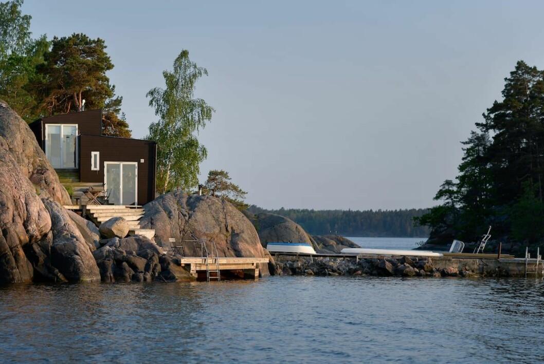 Bastustuga i Stockholm, Sverige