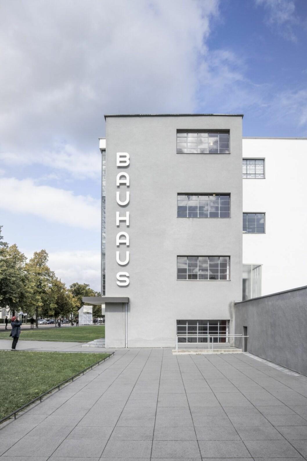 Bauhausskolan i Dessau, foto Melissa Hegge