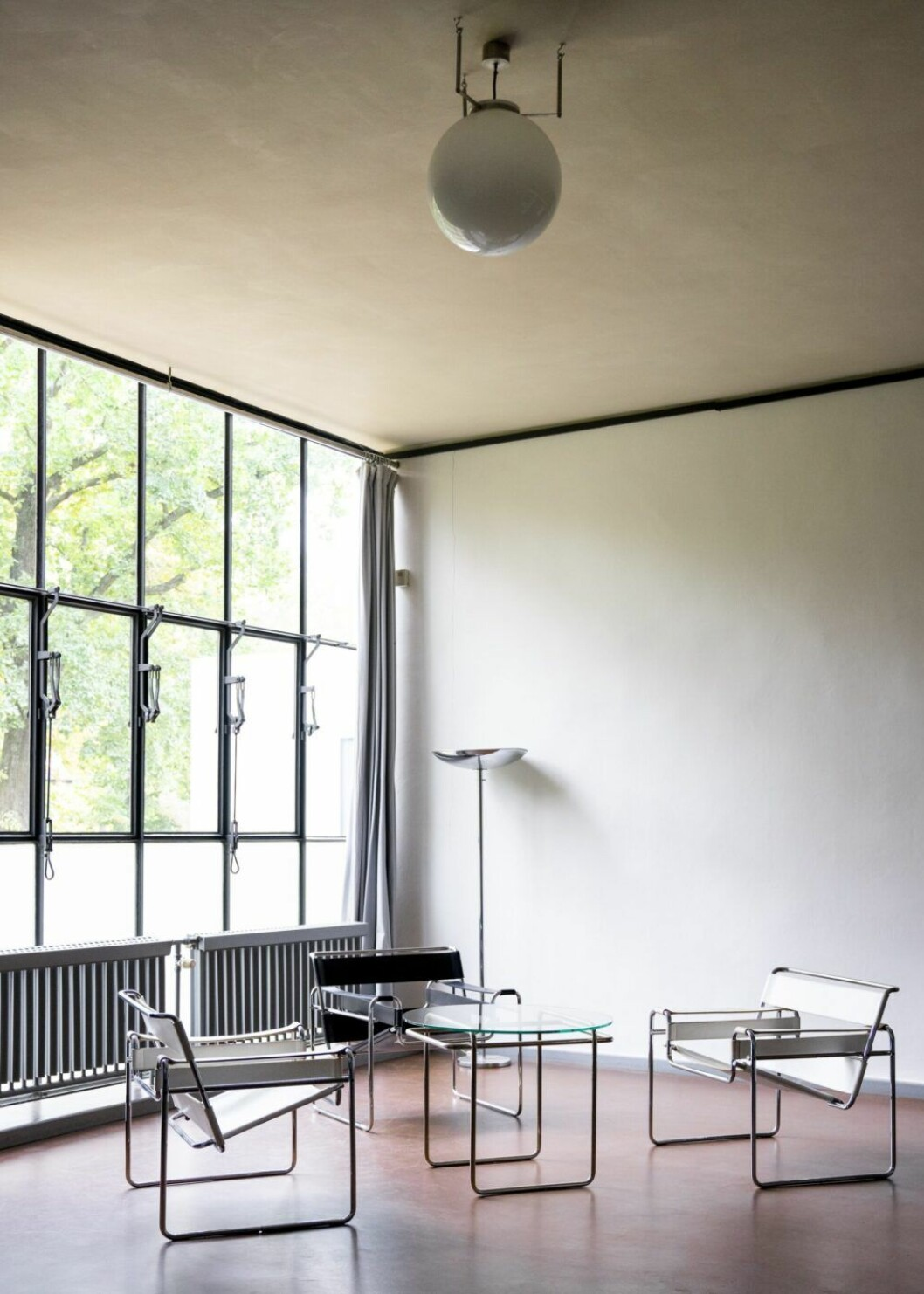 Ateljévåning i en av villorna som kallades för Meisterhäuser. Foto Melissa Hegge.