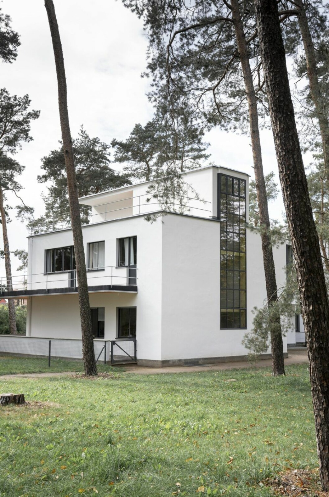 Meisterhäuser i Dessau, foto Melissa Hegge.