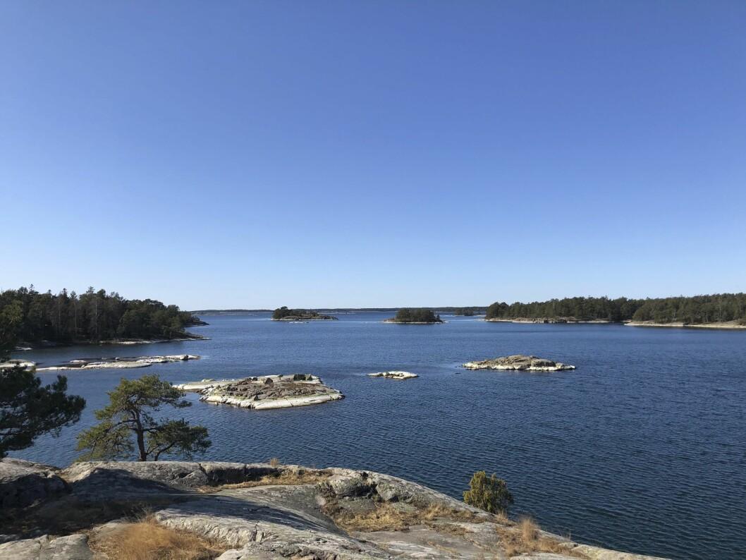 Naturreservat nära Nyköping.