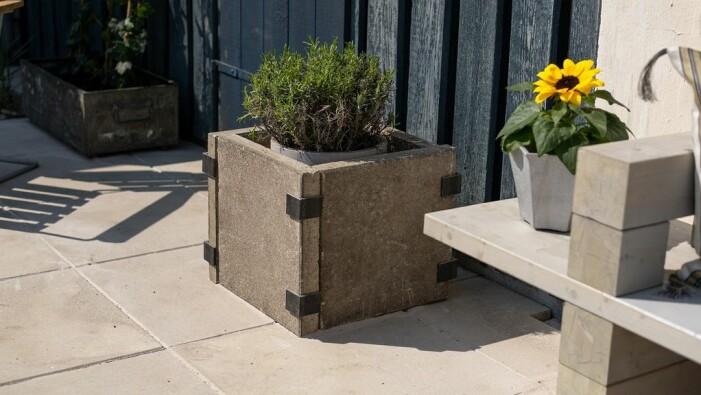 Så gör du en stilren betonggkruka från Sommar med Ernst med Ernst Kirchsteiger på TV4