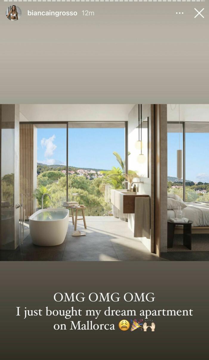 Biancas lägenhet på Mallorca