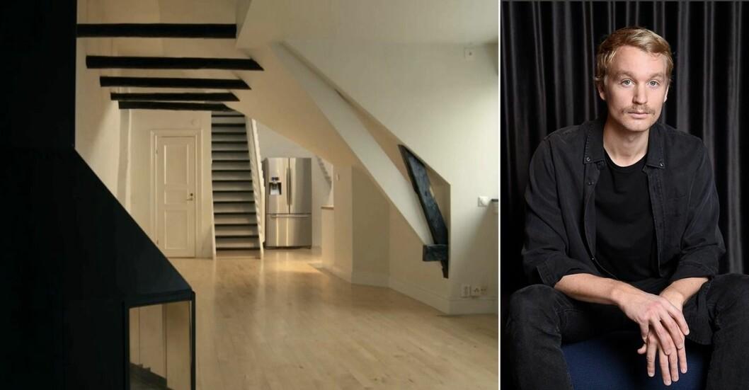 Björn Gustafsson har köp en vindsvåning på Söder i Stockholm. Se renoveringen!
