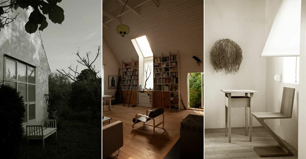 Fotografen Björn Kellers hus på Fårö.