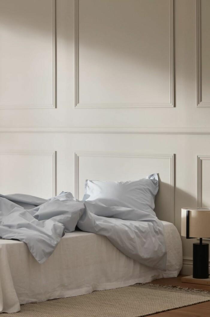 Ljusblåa sängkläder från Ellos Home