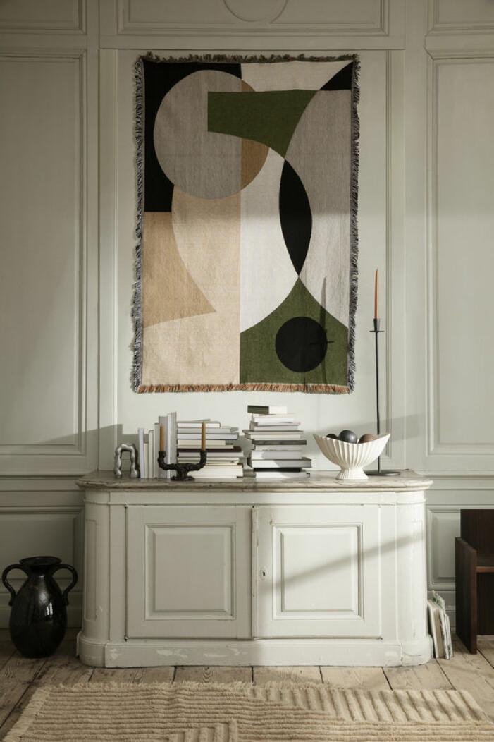 Bohemisk inredning, textilier