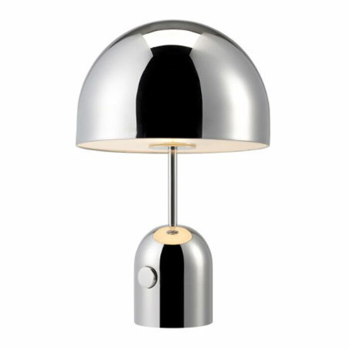 bordslampa silver