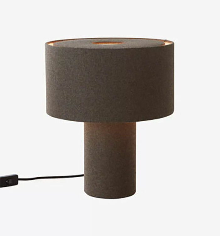 Bordslampa i filt, Jotex