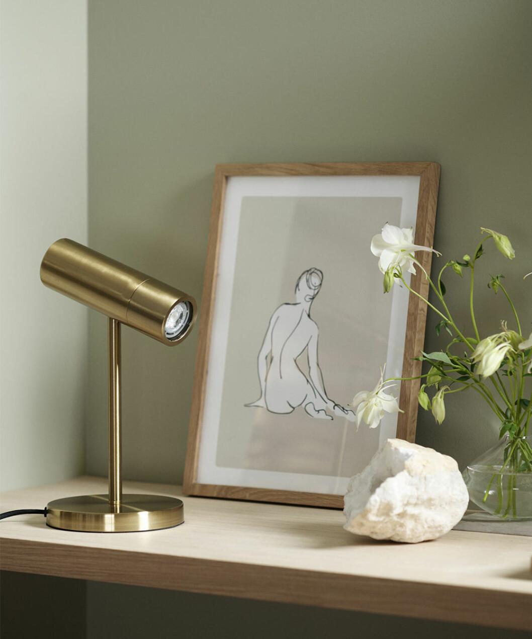 liten skrivbordslampa från H&M Home