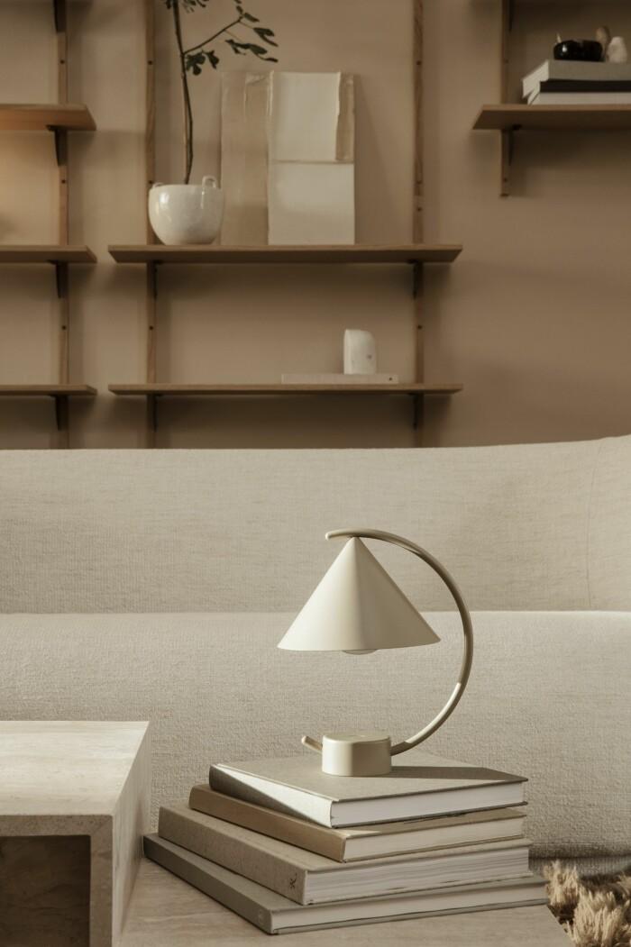 bordslampan meridian från ferm living