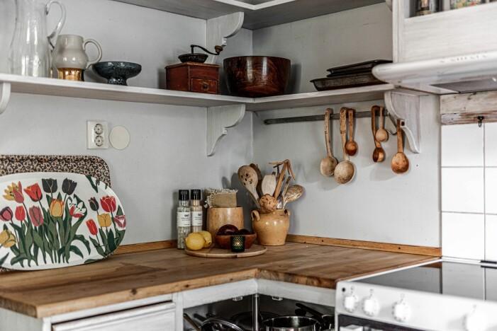 Herrgård i karolinsk stil i Borgvik Värmland detaljer i köket