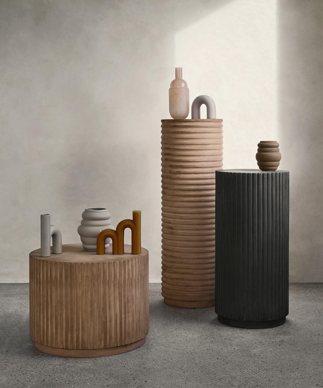 Former och texturer hos Broste Copenhagen hösten 2020