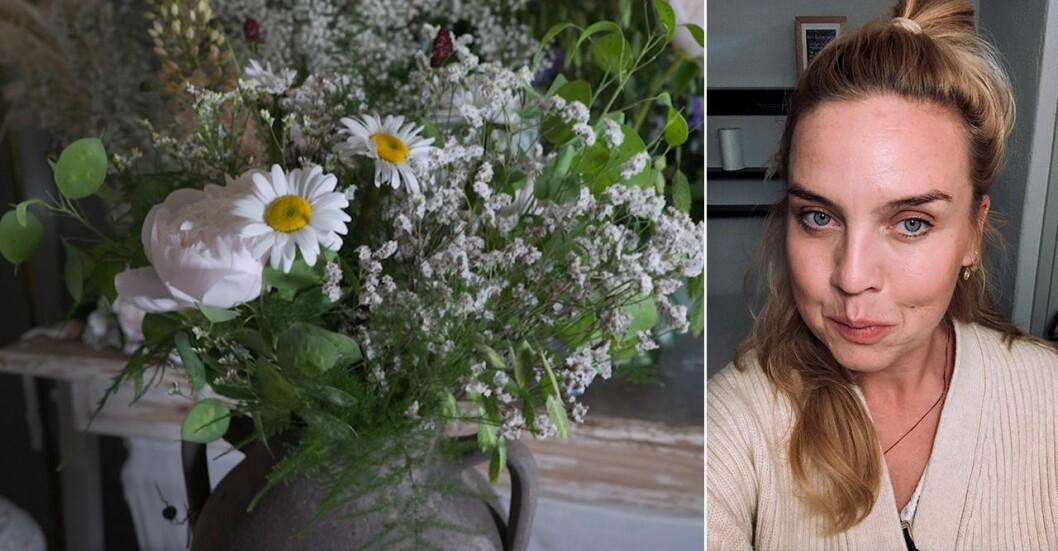 Sandra Britz, florist på Bell & Bonn i Stockholm, visar oss hur man binder blombukett som ett proffs.