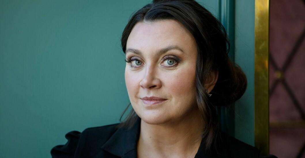 Författaren Camilla Läckberg.