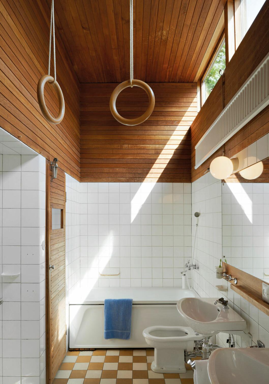 Hemma hos arkitekten Carl Nyrén i Bromma