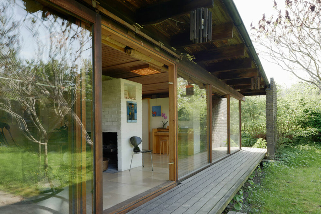Hemma hos arkitekten Carl Nyrén