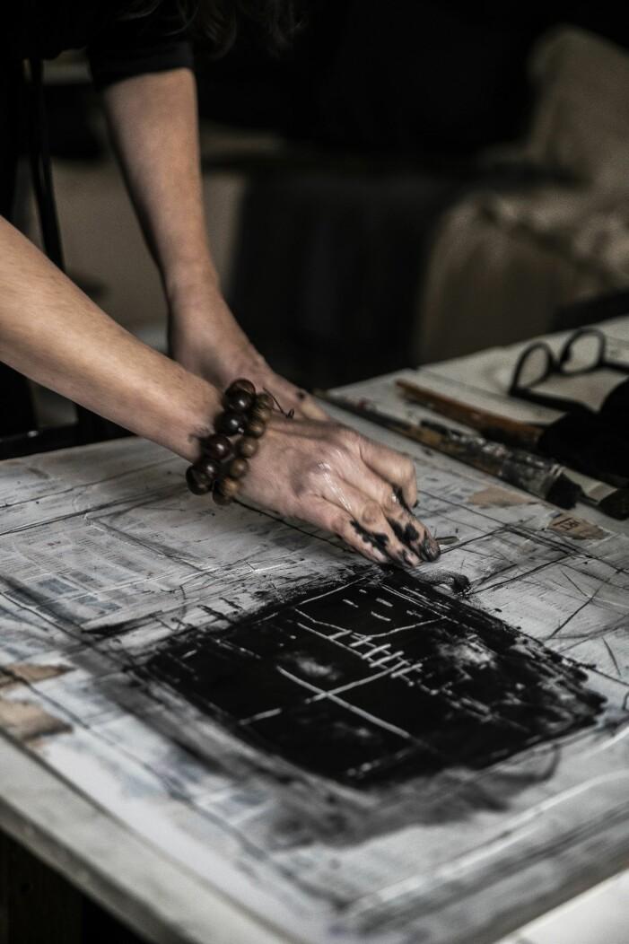 Carola Kastman skapar