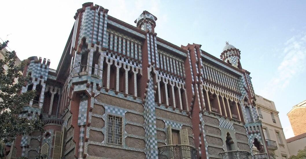 Byggnader ritade av Gaudí, en av världens mest kända arkitekter.
