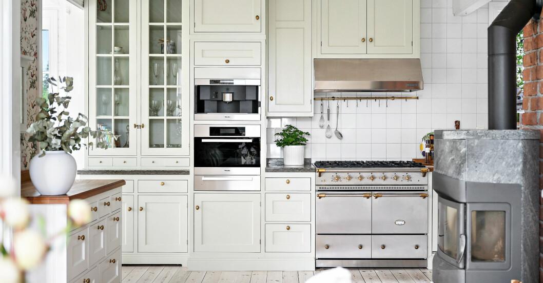 Nytt kök i gammal stil
