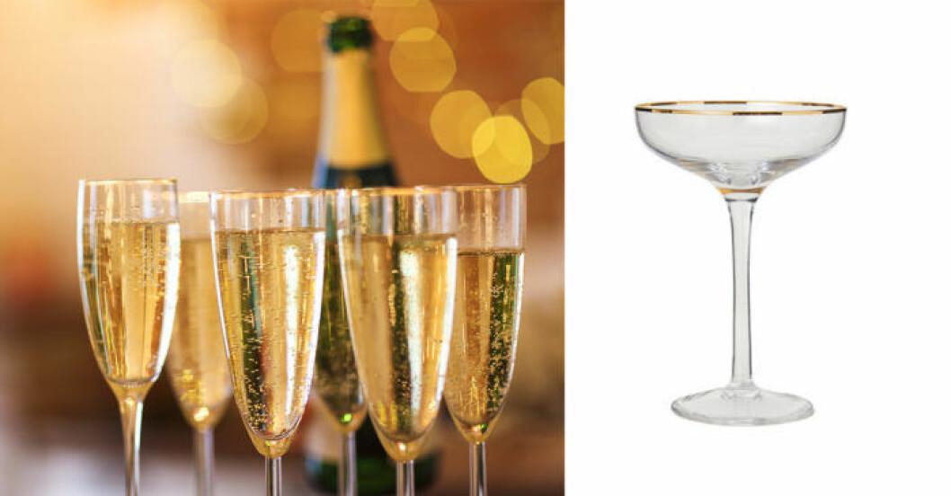 Champagneglas - välj rätt glas
