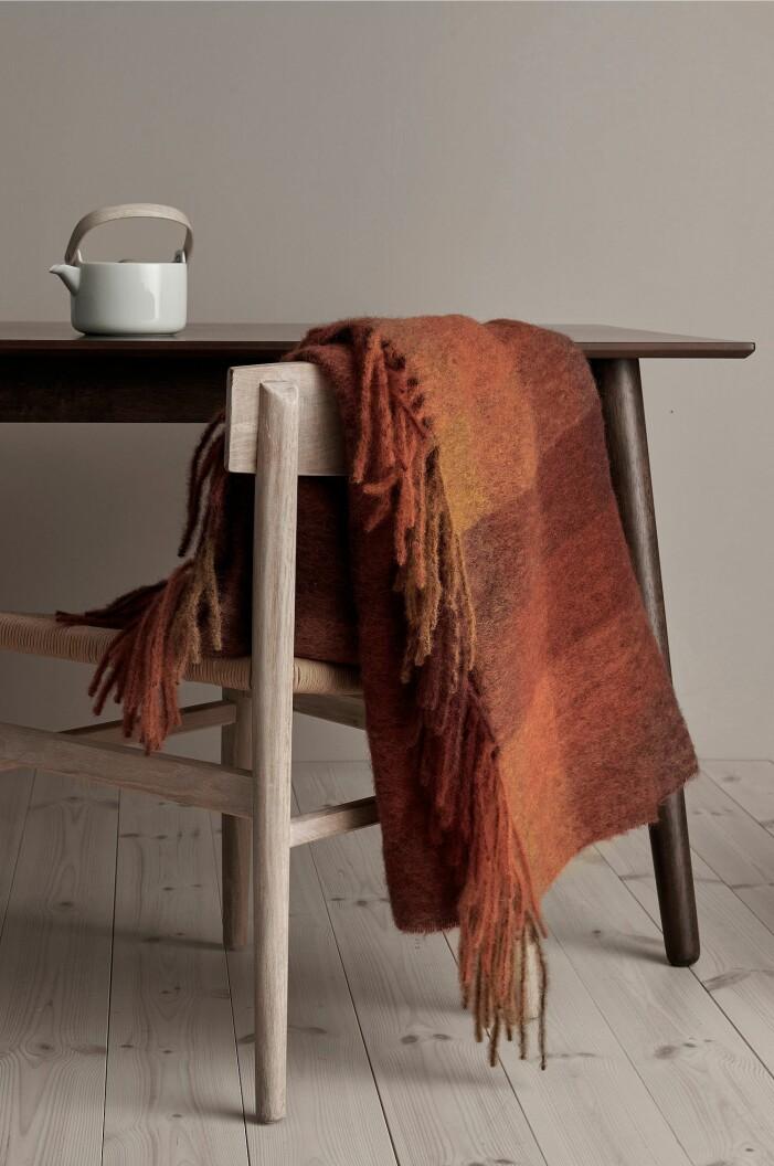 chunky blankets plädar